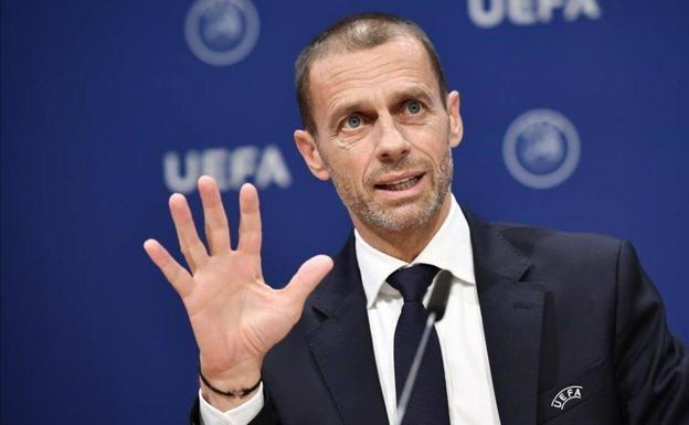 Aleksander Ceferin, UEFA President./Archive