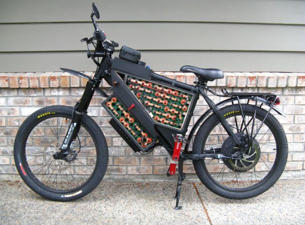 52v battery packs and 3077 fets are good and here 39 s why for Bicycles with electric motors