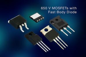 Vishay 650V fast body diode mosfet