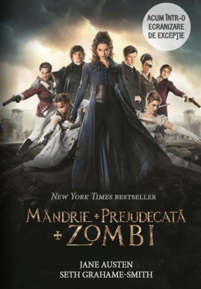 Imagini pentru mandrie si prejudecata si zombie carte