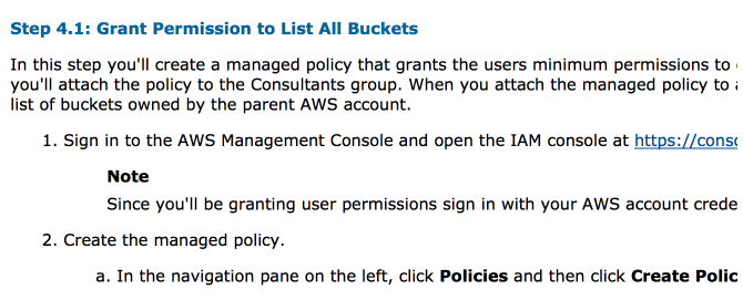 And more AWS docs