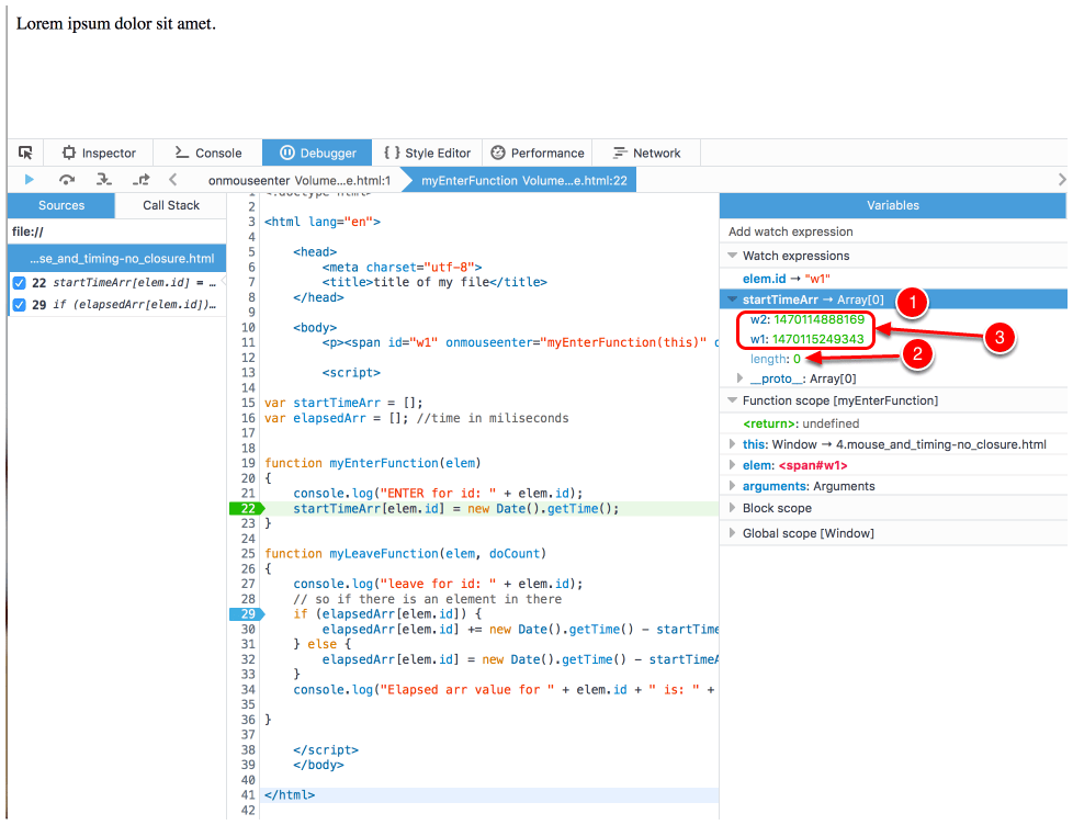 Clarification of Question - Does debugger show what student is claiming?