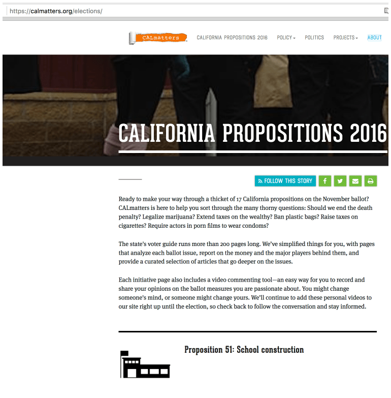 Hitting the 'follow the money' jackpot with calmatters.org