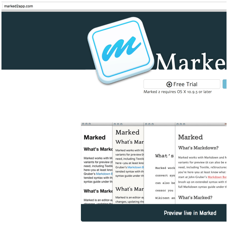 Marked 2 - If you're using Markdown then you need this Mac app
