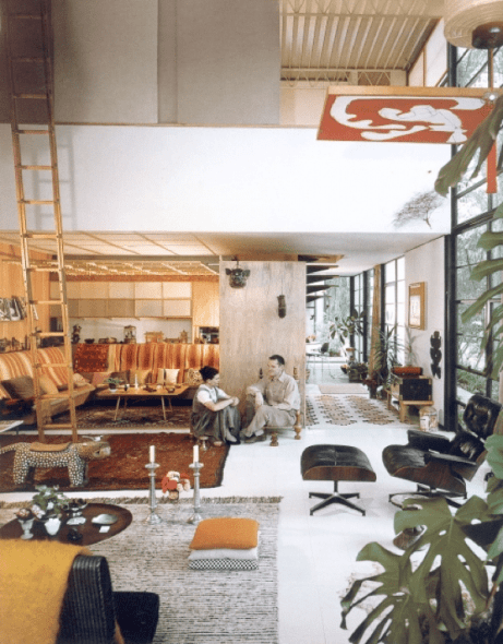 The Inspirational Private Homes of Design Icons
