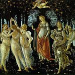 Primavera por Botticelli, Sandro