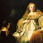 Artemis por Rembrandt Van Rijn
