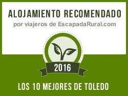 Casa rural La Señorita, alojamiento rural más recomendado en Toledo (El Carpio de Tajo)