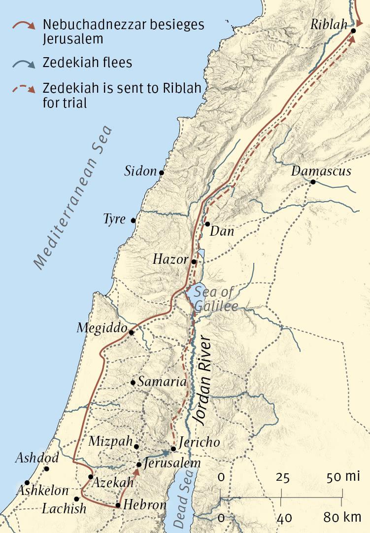 Babylon Attacks Judah