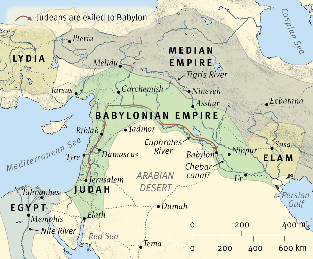 The Near East at the Time of Ezekiel