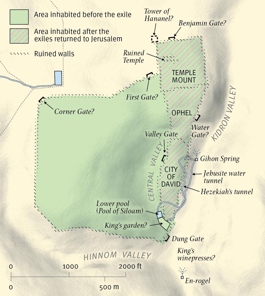 Jerusalem at the Time of Zechariah