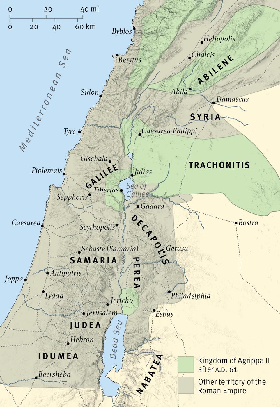 The Kingdom of Herod Agrippa II