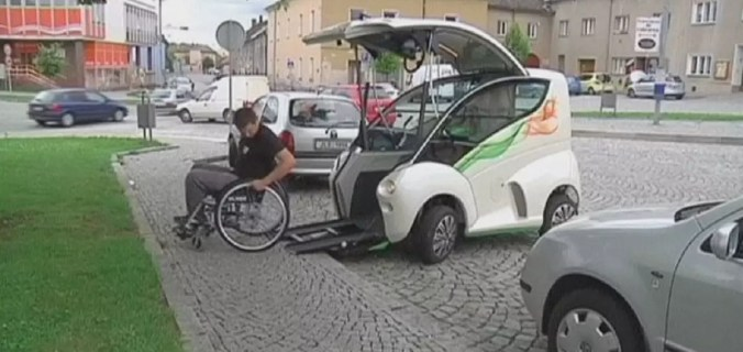 New Car Offers Freedom For Disabled Drivers Euronews Hi