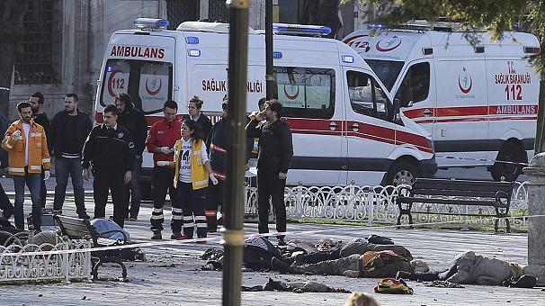 Ισχυρή έκρηξη στο κέντρο της Κωνσταντινούπολης