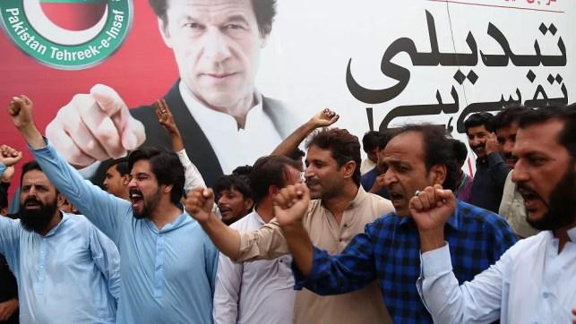 Pakistan's former cricket star Imran Khan sworn in as prime minister