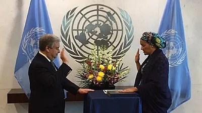 Nigeria's Amina Mohammed sworn in as Deputy UN Secretary-General