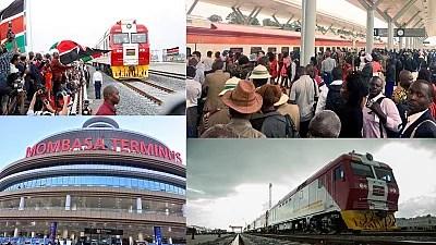 Trains set sail on Kenya's new 472 km Mombasa-Nairobi rail line