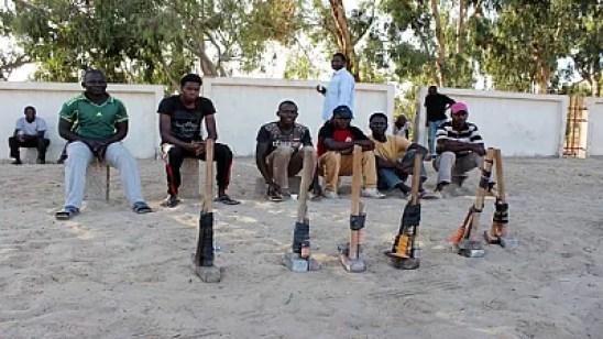 African migrants settle in Libya