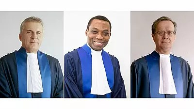 Image result for ICC Judges elects Nigerian Judge, Eboe-Osuji president