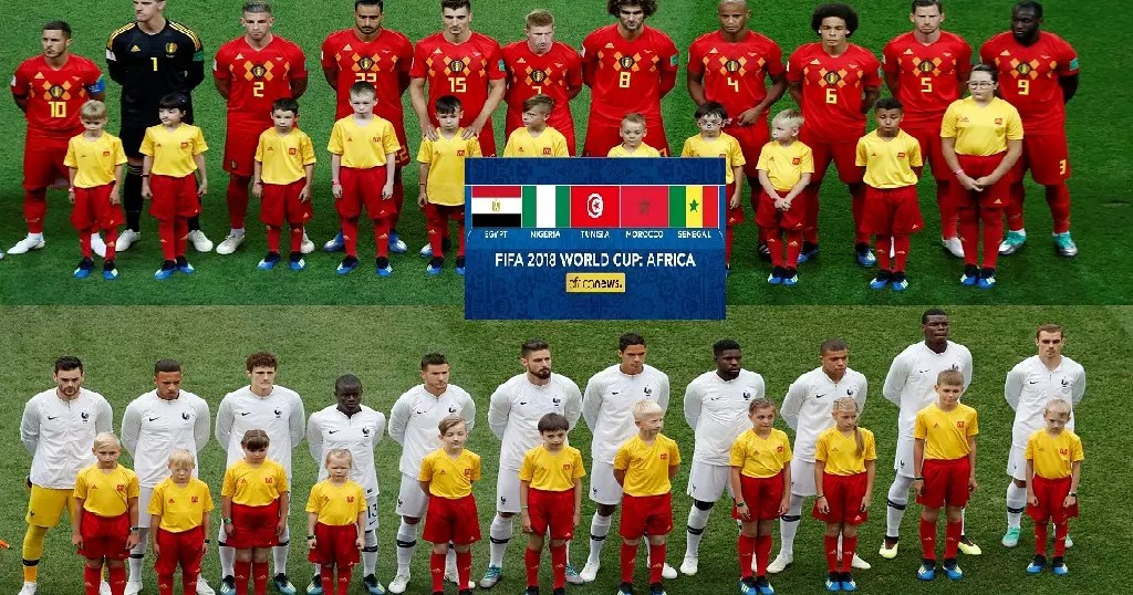 College football is one of america's favorite pastimes, making sports zealots out of otherwise normal human beings. Strong African Connection As France Belgium Clash In World Cup Semis Africanews
