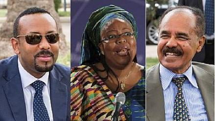 Image result for Eritrea - Ethiopia hailed by Nobel laureate on 2018 World Peace Day