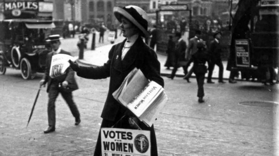 المرأة البريطانية على رأس الدولة بعد مائة عام من العنف