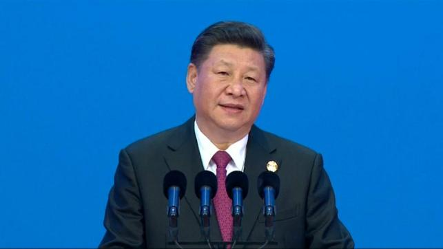 Chinese president warns of Cold War mentality and vows to further open his country's economy