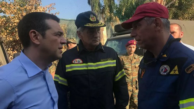 Greek PM visits wildfire-stricken town of Mati a week after the disaster