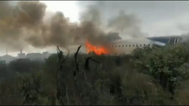 NEW FOOTAGE EMERGES FROM MEXICO AIRCRASH