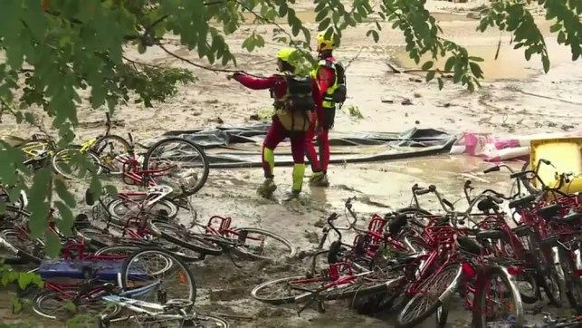Campsite owners detained in French floods investigation