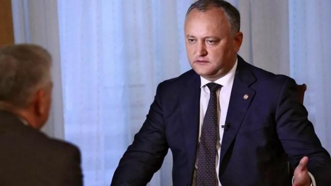 Footage of Moldovan president's car crash emerges online