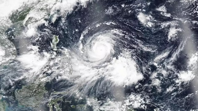 At least three dead as Super Typhoon Mangkhut hits Philippines and Taiwan
