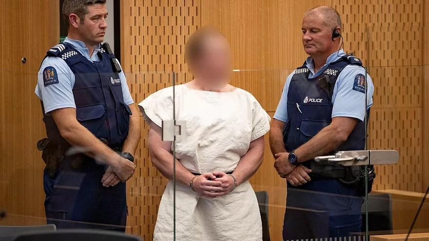 Atacante de Christchurch impassível face a acusação