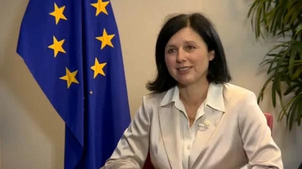 Vera Jourová bizottsági alelnök
