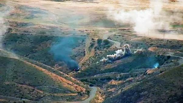 Dağlık Karabağ'da çatışmalar