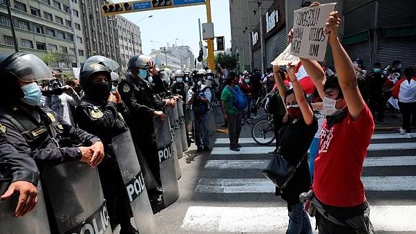 اعتراضات در پرو