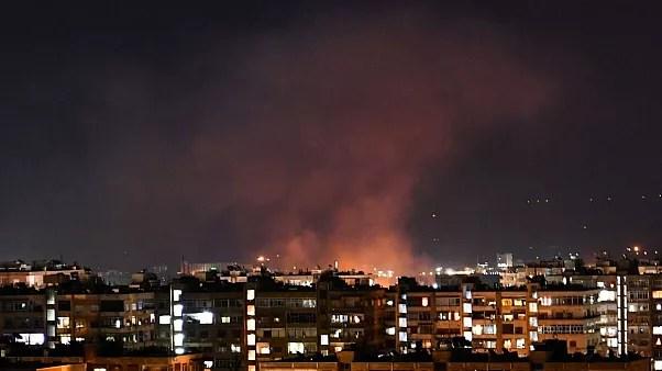 عکس آرشیوی از حملات قبلی به سوریه