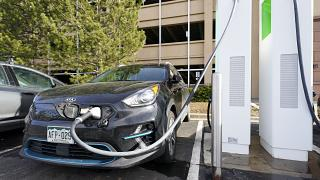 Just a decade earlier, electric car sales accounted for just one percent of the market, the group said.