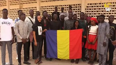 Chadian students in Cameroon pay tribute to Deby, express concern for families  back home | Africanews