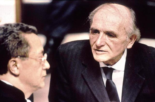 Klaus Barbie et son avocat