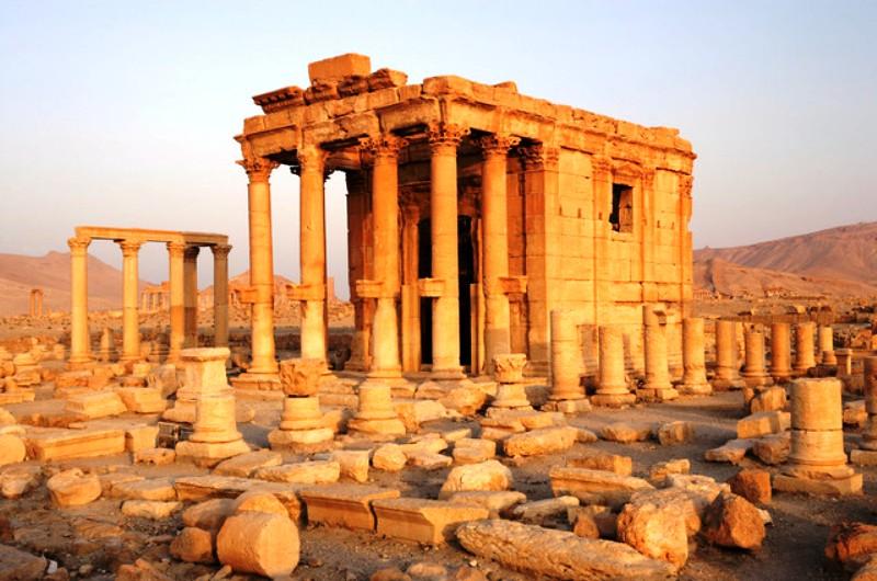 Palmyre : le temple de Baalshamin détruit par Daech