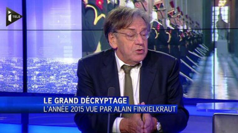 Finkielkraut sur l'affaire Sarah Halimi : Je n'ai pas voulu tout de suite parler de cette affaire, même le CRIF nous mettait en garde contre le risque de rependre de fausses rumeurs »,