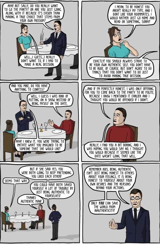 Authentic Man (existential comics)