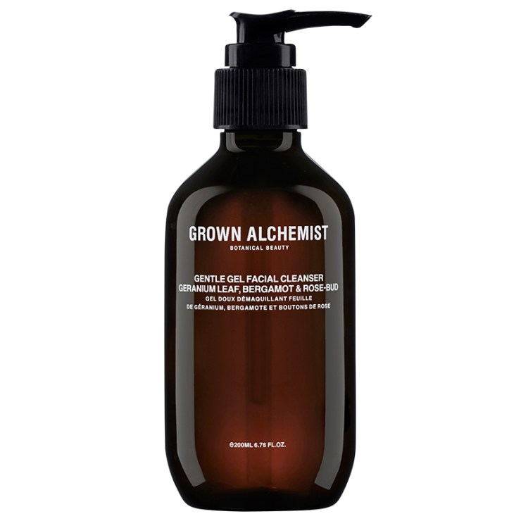Grown Alchemist Gentle Gel Facial Cleanser: Geranium Leaf, Bergamot & Rose-Bud