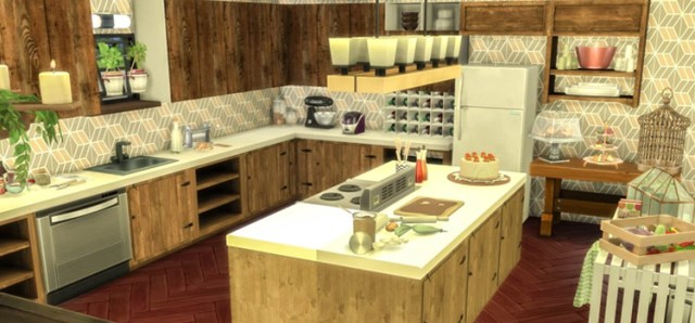 00 featured snessa sims4 rustic kitchen interior design