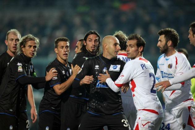 Atalanta-Catania 1 a 1 per la Partita di Natale del 2011