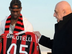 Balotelli e Galliani al Milan
