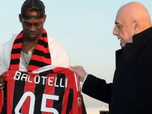 Balotelli e Galliani al Milan