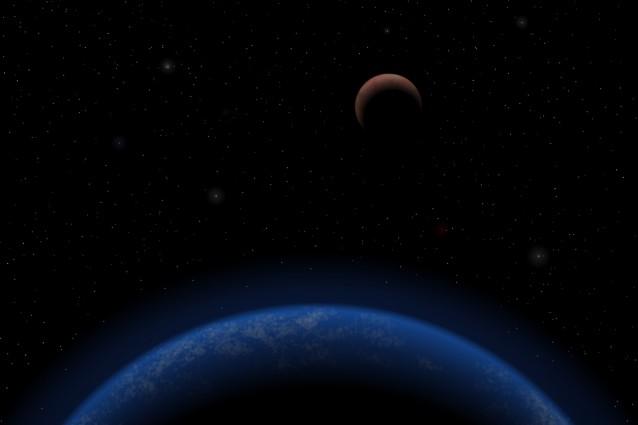 Cinque pianeti intorno a Tau Ceti.