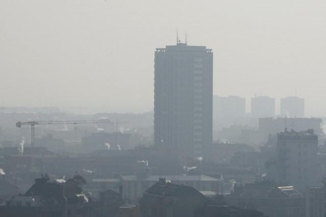 Inquinamento dell'aria, record europeo per la pianura padana.